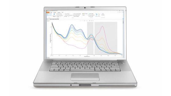 Analysesoftware für die Raman-Spektroskopie