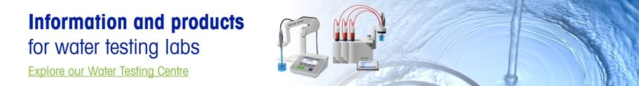 Products and information for water testing labs