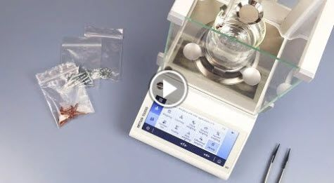 Density Measurement with Laboratory Balances