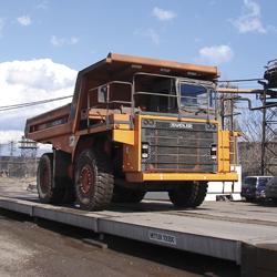 balanças para caminhões para aplicações off-road
