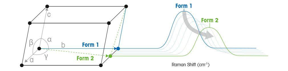 Spectroscopie Raman dédiée aux polymorphes