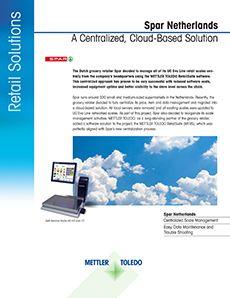 Etude de cas METTLER TOLEDO sur le logiciel MTRS RetailSuite chez Spar aux Pays-Bas