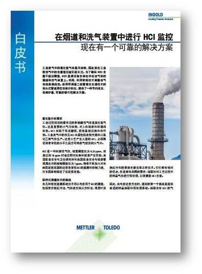 白皮书: 适用于所有过程的 — 折返光路式激光气体分析仪