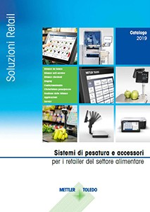 Catalogo dei prodotti per la vendita al dettaglio