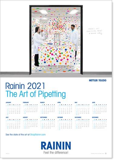Rainin 2021 Calendar