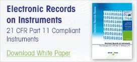 21 CFR Part 11 Compliant Instruments