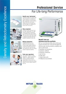 Density and Refractometry Excellence - Professional Service For Life-long Performance