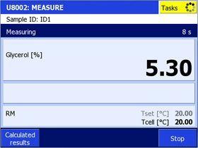 Tablas de concentraciones para el índice de refracción