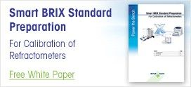 Smart BRIX Standard Preparation - For Calibration of Refractometers