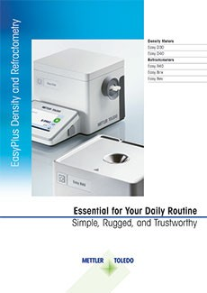 EasyPlus Density and Refractometry