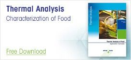 Thermal Analysis Applications for the Characterization of Food