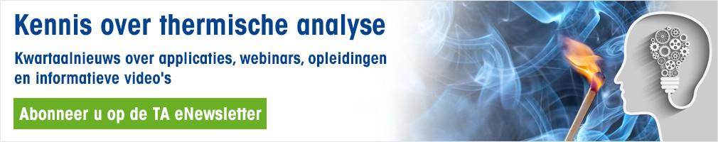 Thermal Analysis eNewsletter