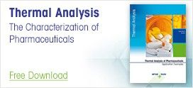 The Characterization of Pharmaceuticals Using Thermal Analysis