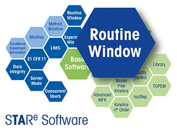 STARe Software Option Routine Window
