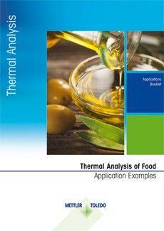 Efeitos e propriedades dos principais componentes dos produtos alimentícios que podem ser investigados pela análise térmica.