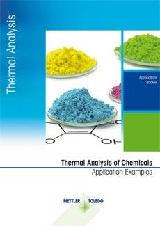 Thermal Analysis Applications for the Chemical Industry