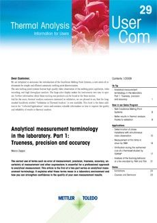 Thermal Analysis UserCom 29