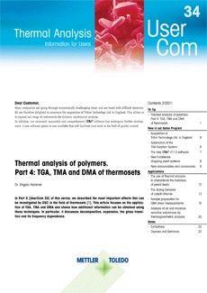 Thermal Analysis UserCom 34