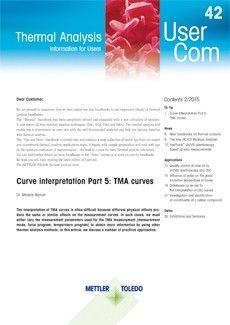 Thermal Analysis UserCom 42