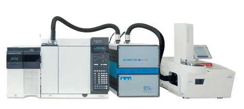 Figure 1. The TGA-IST16-GC/ MS system.