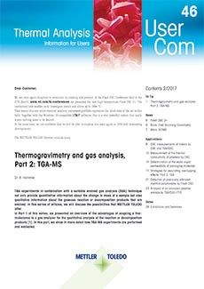 Thermal Analysis UserCom 46