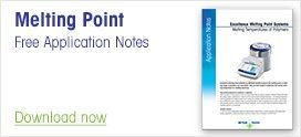 Free Application Notes for Melting Point