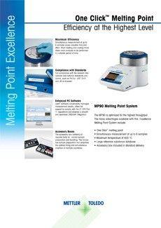 نظام قياس درجة الذوبان MP90