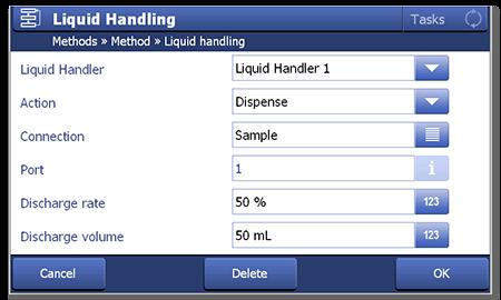Simple programing for Dispensix liquid handling method