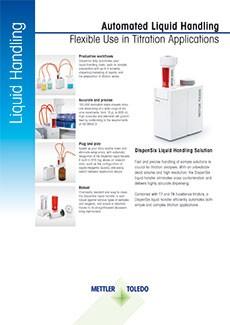 Datasheet of DispenSix Liquid Handler
