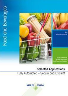 Applikationssammlung für Nahrungsmittel und Getränke