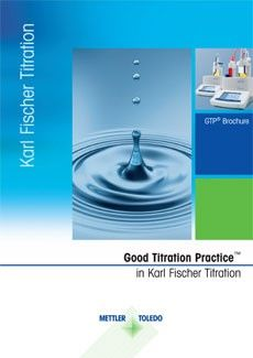 Karl Fischer Titration Guide to Water Determination