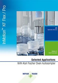 karl fischer oven autosampler application