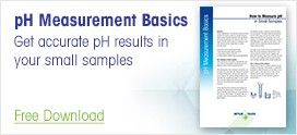 How to Measure pH in Small Samples
