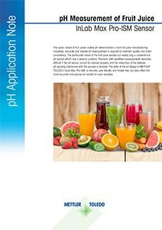 pH of fruit juice