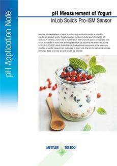 pH of yogurt
