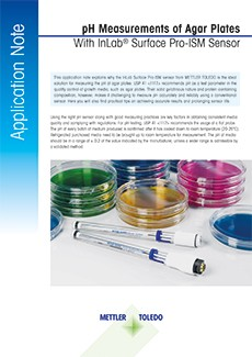pH of Agar Application Note