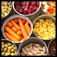Pomiary pH żywności w puszkach