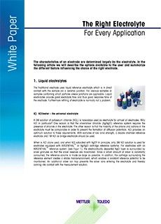 pH Electrolyte Selection White Paper