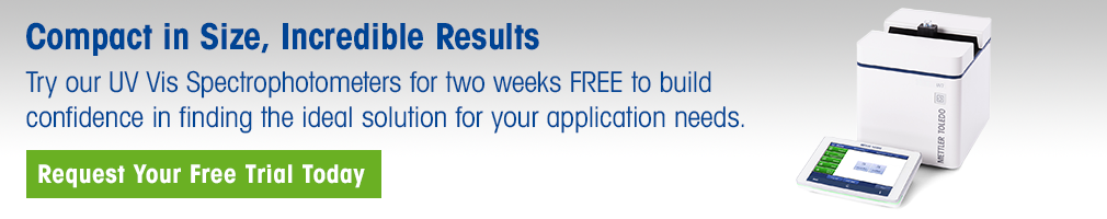 FREE Trial UV Vis Spectrophotometer (US only)