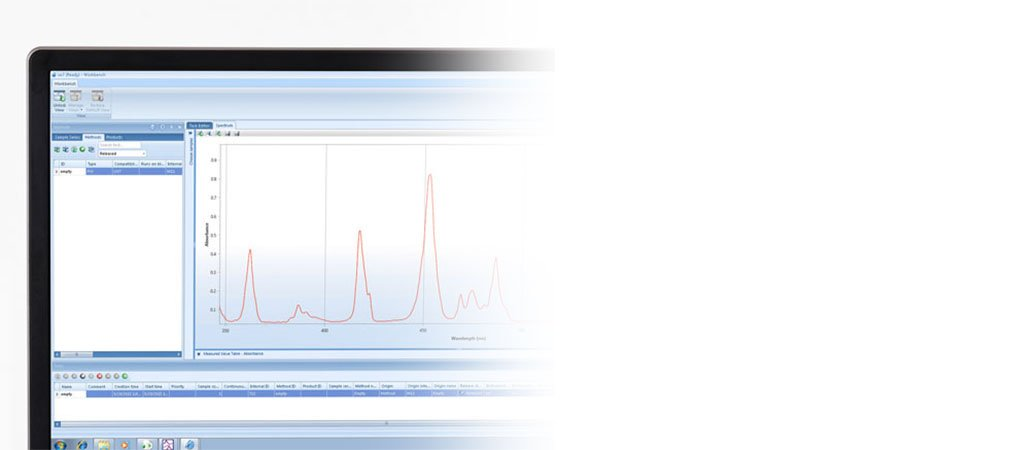 LabX® software for a spectrophotometer