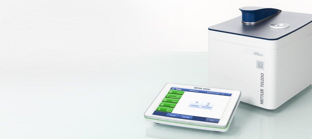 Spectrophotomètre UV Visible à microvolume UV5 Nano