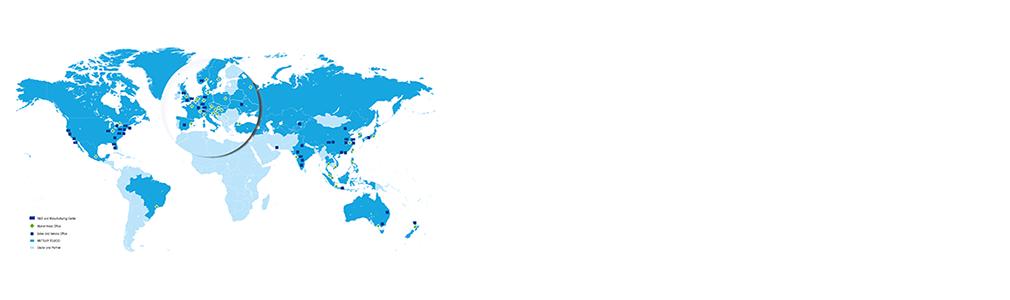 Wereldwijde goedkeuringen