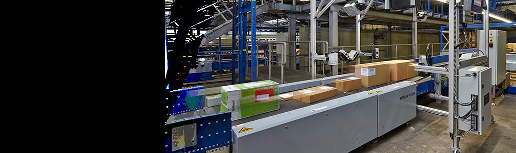 Cargoscan™ قياس الأبعاد والوزن والمسح الضوئي أثناء الحركة (DWS)