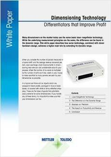 Dimensioning Technology White Paper