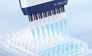 multichannel pipette with multi dispense options