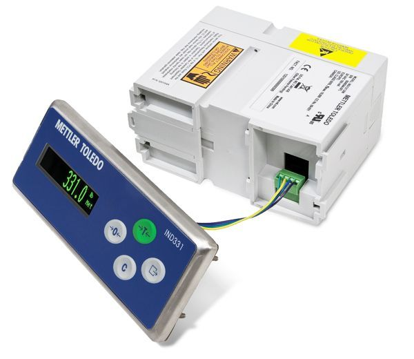 ind331 panel mount terminal overview mettler toledo ind331 din chassis mounted remotely