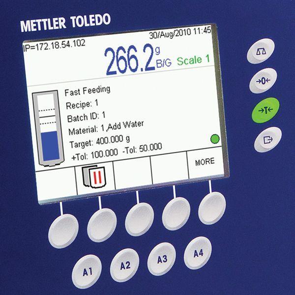 ind780batch batching controller overview mettler toledo rh mt com Mettler-Toledo Floor Scale Toledo Scale