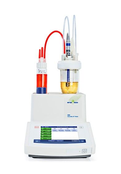 Compact Karl Fischer titration featuring One Click™ Water Determination