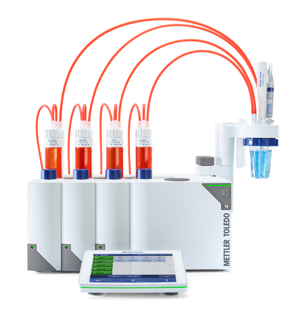 Produktreihe Titration Excellence mit One Click® Titration