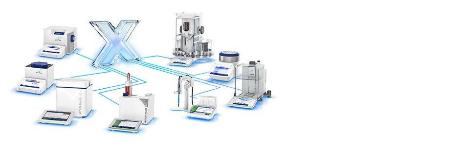 <b> Seamless UV/VIS Integration </b> <br> The METTLER TOLEDO <br>LabX Platform